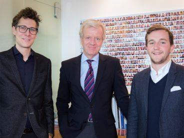 Sebastian Höglinger, Gerhard Fabisch, Peter Schernhuber. Foto: Margit Kundigraber