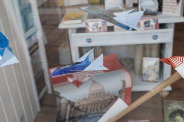 Schaufenster Büchersegler