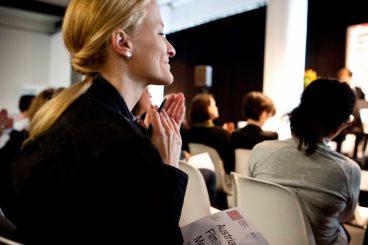 Film Meeting (2016), Foto: Diagonale/Miriam Raneburger