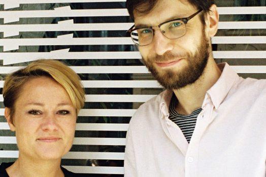 Katja Jäger und Dominik Tschütscher (Cinema Next), Foto: Diagonale/Paul Pibernig