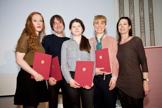 Tizza Covi, Händl Klaus, Monja Art und Nora Friedel mit Barbara Fränzen, Foto: Diagonale/Miriam Raneburger